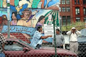 Day laborers wait for work outside Casa Latina in Seattle in this 2007 photo.