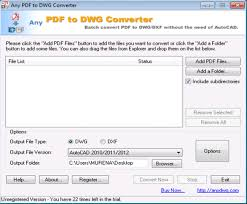 Convert Dwg To Dxf Any Pdf To Dwg Converter When Converting Pdf To Autocad Drawing The