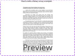 literary essay examples baseball saved us literary essay on fox  how to write a literary essay examples this guide will provide research and writing tips