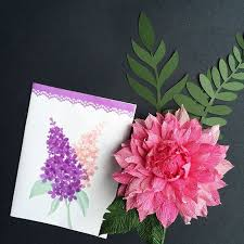 Chart Paper Flower Making Paper Punches And Crepe Paper Flowers Handmade Paper Flowers By