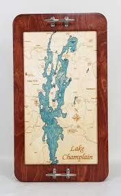 Serving Tray Boat Cleat Style Sea Soul Charts
