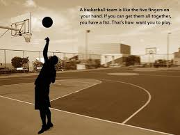 Basketball Team Quotes Custom A Basketball Team Is Like The Five Fingers Best Quotes 48