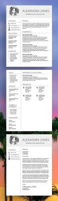 Nurse Resume Template - Medical Cv - Cv Template + Cover Letter - Ms ...
