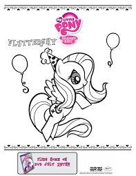 Small Picture My Little Pony Fluttershy coloring print out Thats kid stuff
