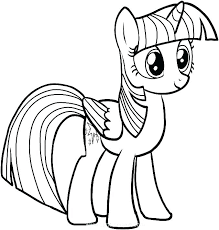 Pony Picture To Color My Little Pony Coloring Pages My Little Pony