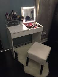 My teenie tiny makeup vanity (perfect if you have very little space)