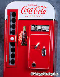 Soda Pop Vending Machine