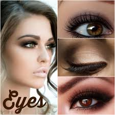 fall makeup looks for brown eyes on trend brown makeup is back re