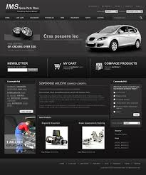 auto parts website template affordable automobile spare templates