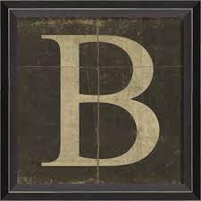 alphabet letter b framed wall art on wall art letter b with alphabet letter b framed wall art by spicher and company