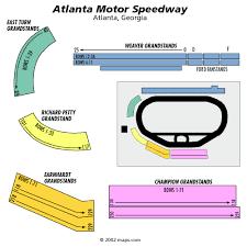 Atlanta Motor Speedway Seating Chart Rows Cheap Atlanta Motor Speedway Tickets