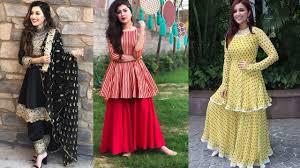 Black Frock Design 2018 Top 50 Peplum Dress Designs Short Frock Designs For Girls
