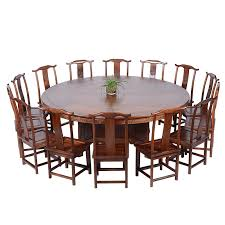 awesome ming and qing antique wood dining table big round table roundtable within big round table
