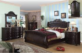 Paint For Bedrooms With Dark Furniture Sky Stripes Paint Color Ideas For Bedroom With Dark Blackish Brown