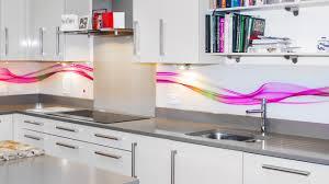Kitchen Glass Splashback Abstract Waves Printed Glass Splashback Youtube