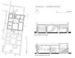 nyu excavations at maps ancient roman house layout domus