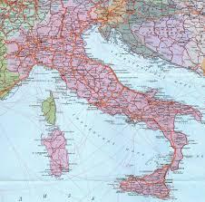 Где находится Италия Карта Италии Скачать карту Италии Где  Карта Италии Где находится Италия