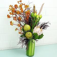 office floral arrangements. Tall Modern Native Vase Arrangement Office Floral Arrangements