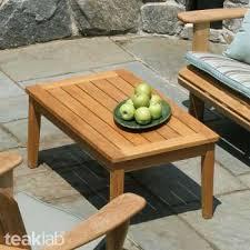 teak wood outdoor coffee table