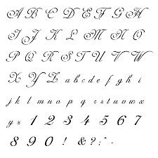 Tattoo Schriften Vorlagen - 40 Designs Posts | Fonts, Alphabet ...