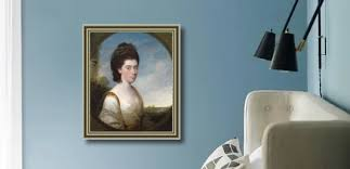 Portrait Of Penelope Johnson Painting by Thomas Hickey Reproduction | 1st  Art Gallery