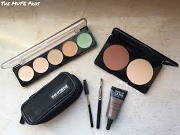 make up for ever camouflage palette aqua brow sculpting kit