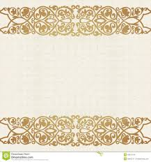 luxury gold border on seamless background stock vector image Wedding Card Frame Vector royalty free vector wedding card border vector