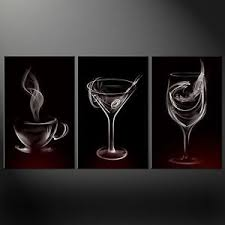 image is loading smoke drinks glasses kitchen design canvas print picture  on kitchen wall art canvas uk with smoke drinks glasses kitchen design canvas print picture wall art