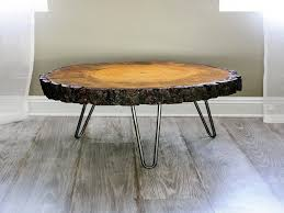 Wood Slice Coffee Table Fresh 24 39 39 Wide Tree Slice Coffee Table Found Wood  Wood