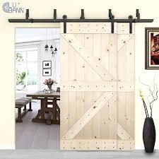 bypass double sliding barn door hardware doors cavity revit family