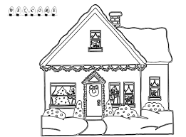 Small Picture Gingerbread House Coloring Page Modern Coloring Pages For Girls