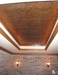 decorative ceiling tiles s faux copper tile home depot menards tin glue up