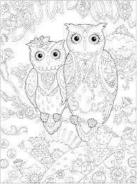 Snowy Owl Colouring Page Cute Owl Coloring Page Owl Coloring Pages