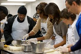Soup Kitchen Washington Obama Celebrates Mlk Holiday Visits Soup Kitchen