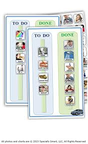 Work Schedule Charts Amazon Com 80 Photos 2 Charts For Autism Visual Schedule Picture