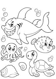 Onderwaterdieren Kleurplaten Kerst 2018