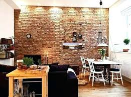 decoration brick wall interior design interiors with exposed within walls ideas 2 decorative panels