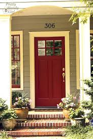 what color should i paint my front doorThe 25 best Red front doors ideas on Pinterest  Red door house