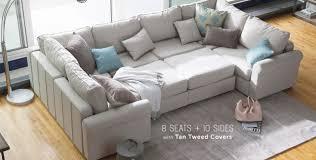 modular sectional sofa furniture 8 seats 10