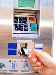 Credit Card Vending Machines Safe Impressive Person Inserting Removing A Card From Ticket Vending Machine