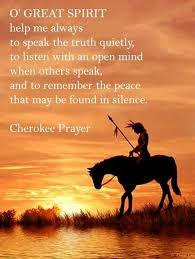 Cherokee Indian Quotes