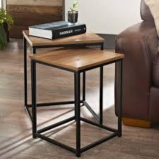 storage basket side table