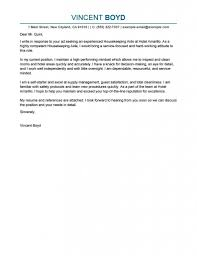 The Cover Letter For Resume Housekeeping Customize | Resume Template