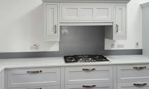 Kitchen Glass Splashback Glass Metallic Painted Kitchen Glass Splashbacks Grey
