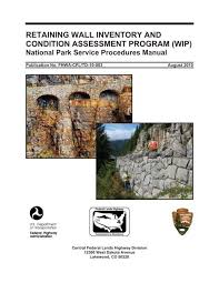 retaining wall inventory and condition