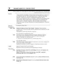 Biology Resume Objective Resume Objective Resume For Hospital Resume ...