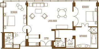 Mirage Two Bedroom Tower Suite Cool Decorating Ideas