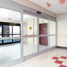 dorma esa200 commercial fixed sidelite automatic sliding door