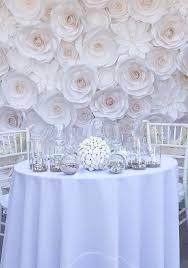 Paper Flower Wedding Decorations Large Paper Flowers Wedding Backdrop Paper Flower Backdrop