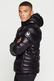 climate black puffer jacket